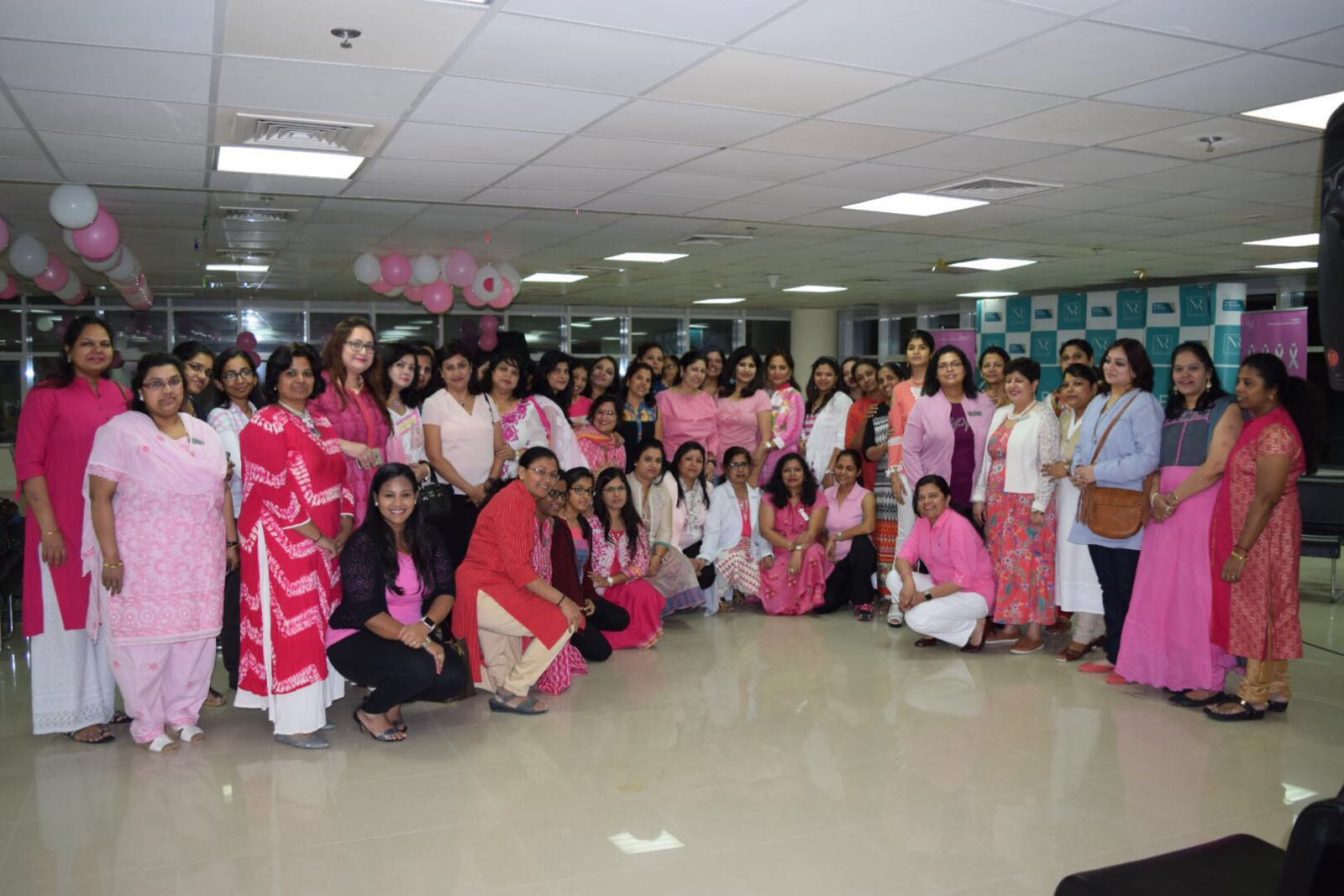 Breast cancer awareness in association with naseem al rabi