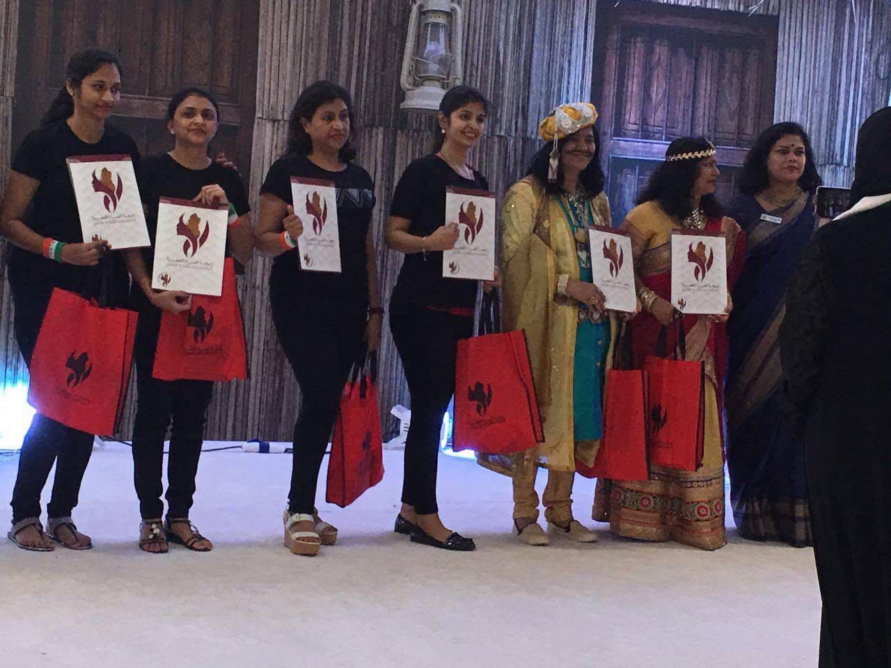 Qatar Women association exhibition iwa performances
